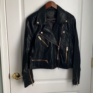 NWT Blank NYC Faux Leather Jacket L